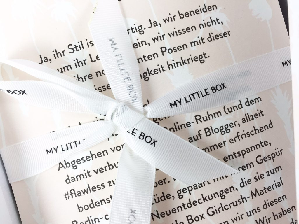 My little Box - August - by Journelles