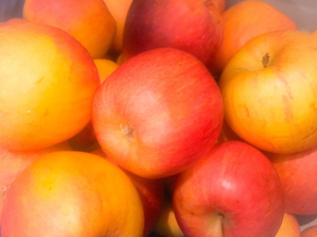 Die Äpfel müssen weg!